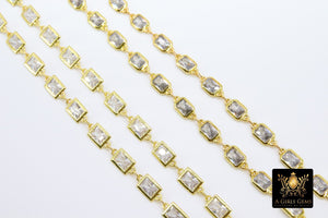 Genuine Cubic Zircon Chains - A Girls Gems