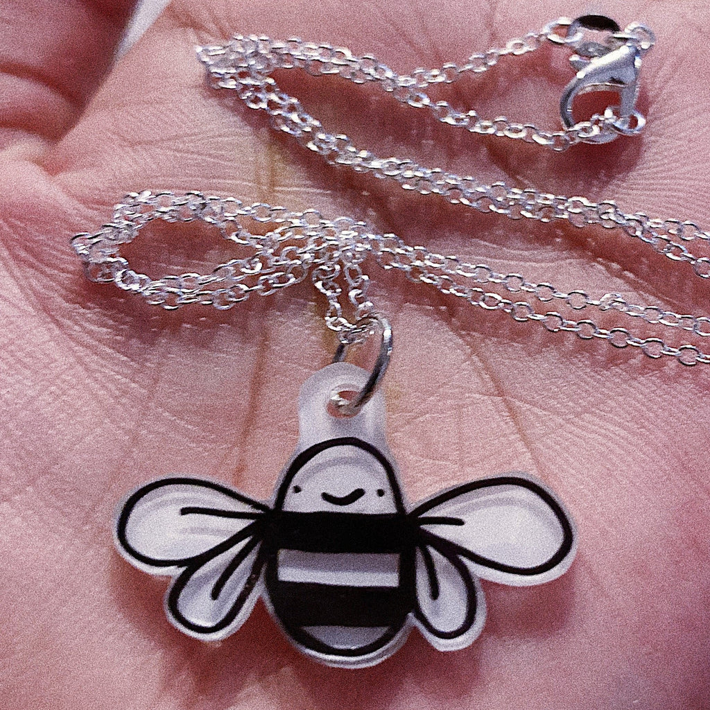 Bae-Bee Silver Necklace Charm