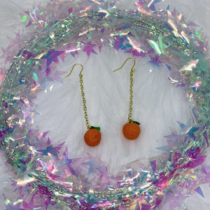 Vitamin C Dangly Earrings