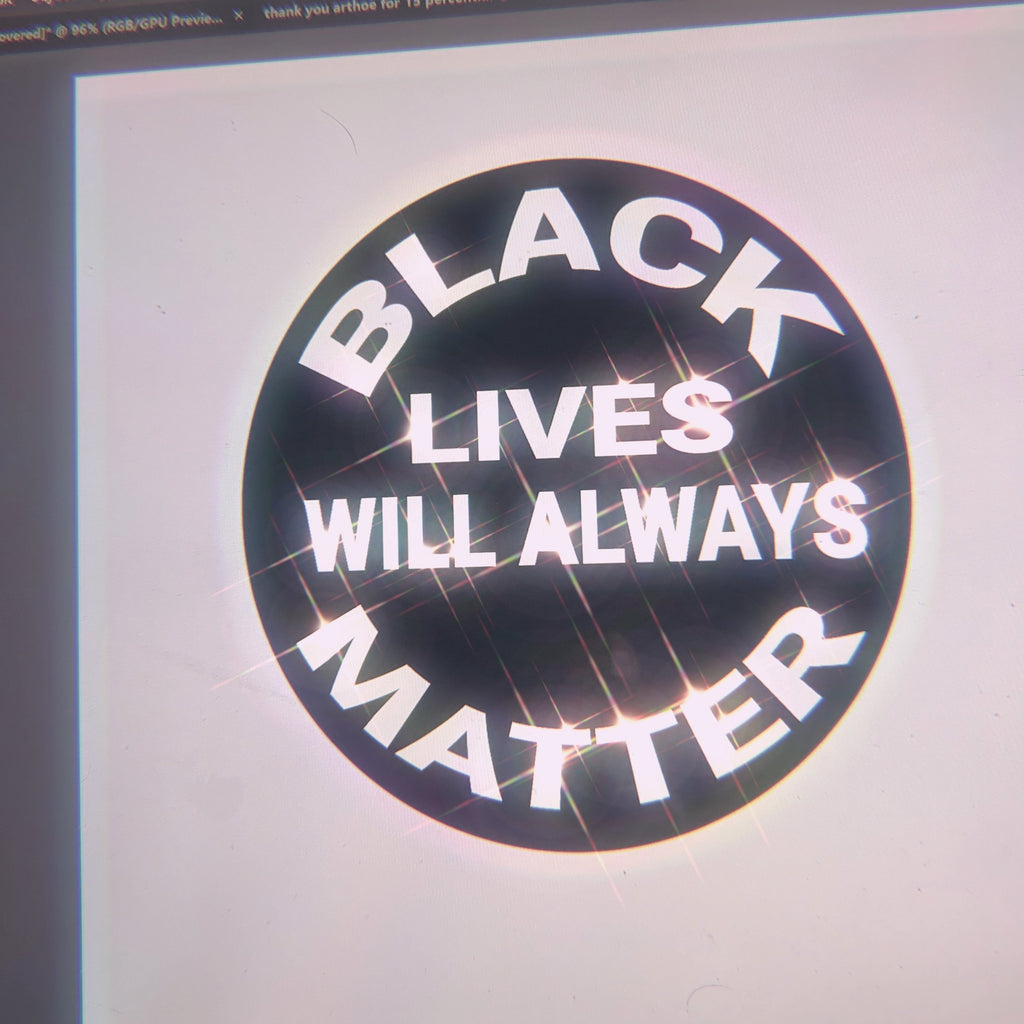 Black Lives Will Always Matter Decal