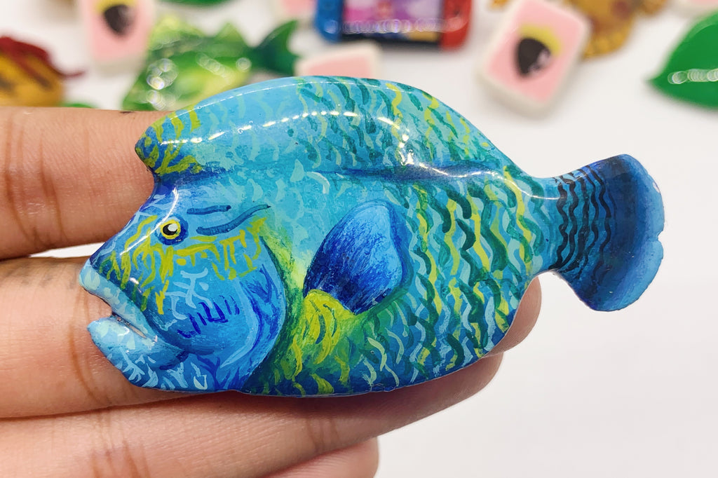 Napoleon Fish Pin ACNH