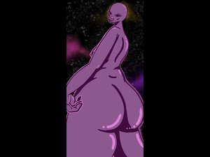 Purple Alien Booty