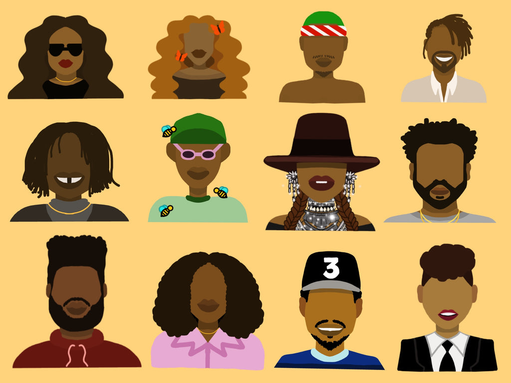 Black History Month - My Favorite Musicians