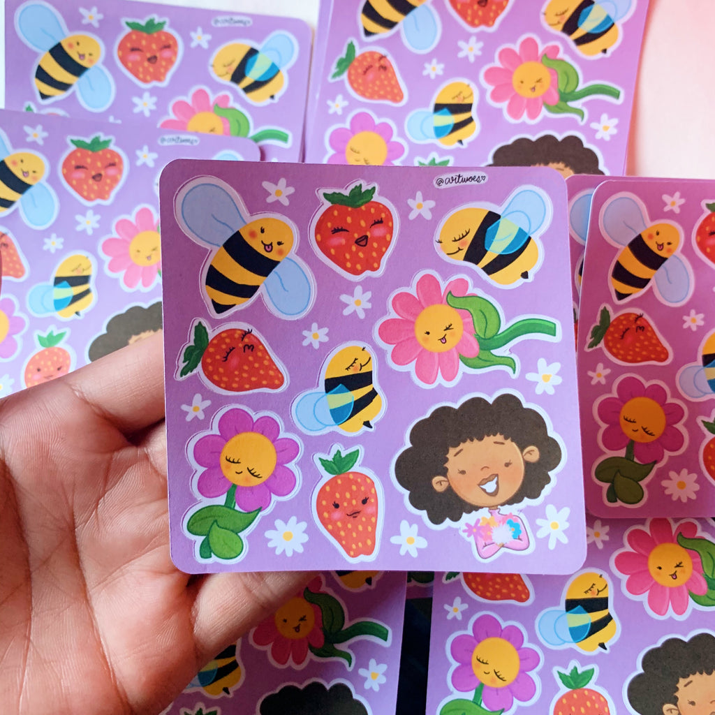 Sweetest Spring Sticker Sheet
