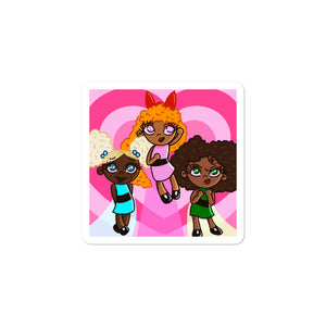 Powerpuff Vinyl Sticker