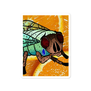 Your Fly Is Down Vinyl Sticker