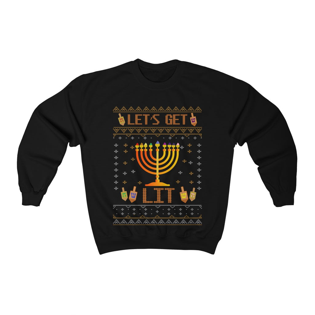 Let's Get Lit Fleece Sweatshirt