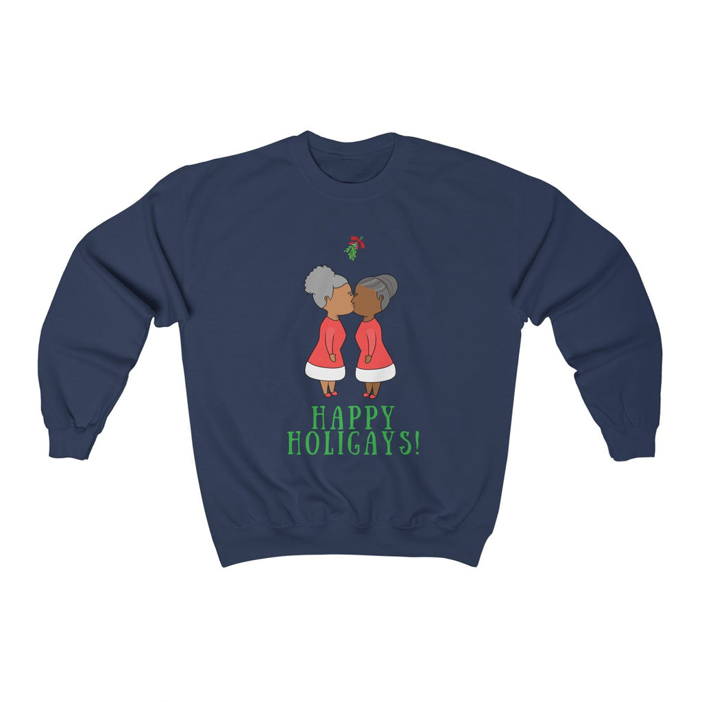 Mrs. & Mrs. Claus Crewneck Sweatshirt