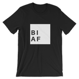 Bi AF Short-Sleeve T-Shirt - Royal Rainbow