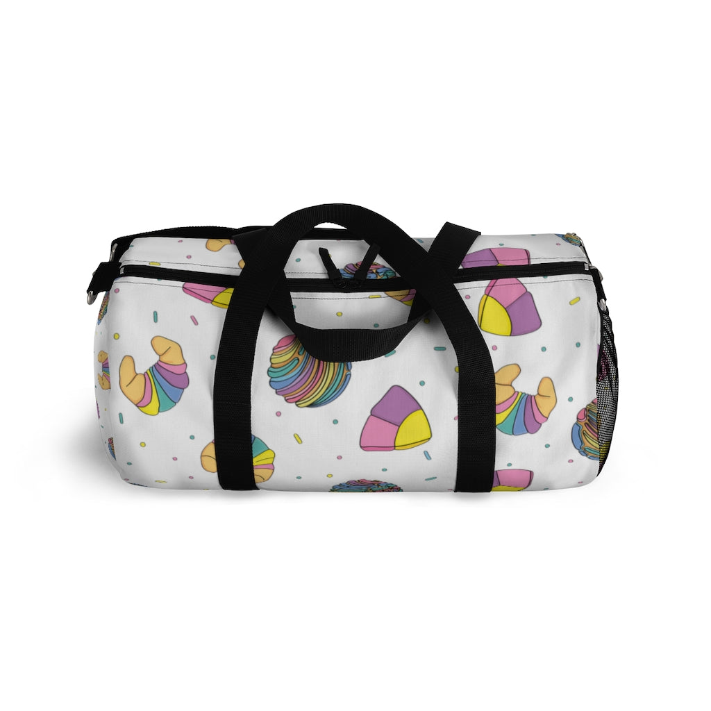 Rainbow Concha Duffel Bag