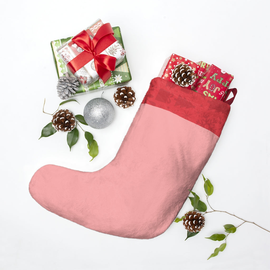 Mrs. & Mrs. Claus Stocking