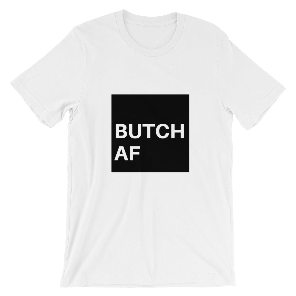 Butch AF Short-Sleeve T-Shirt - Royal Rainbow