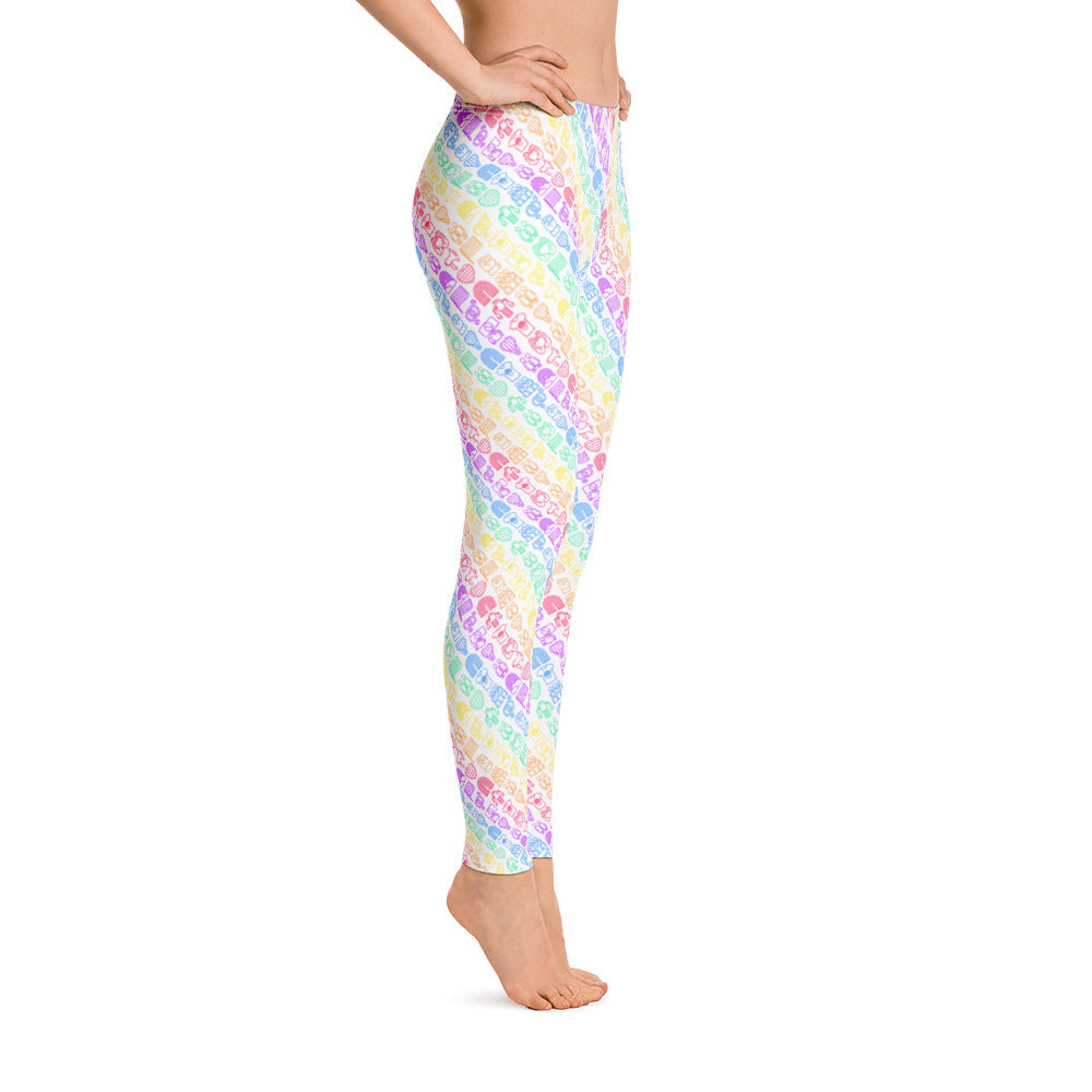 Royal Rainbow Leggings - Royal Rainbow