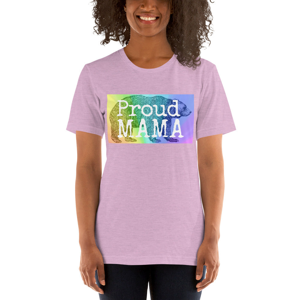 Proud Mama Bear Short-Sleeve T-Shirt