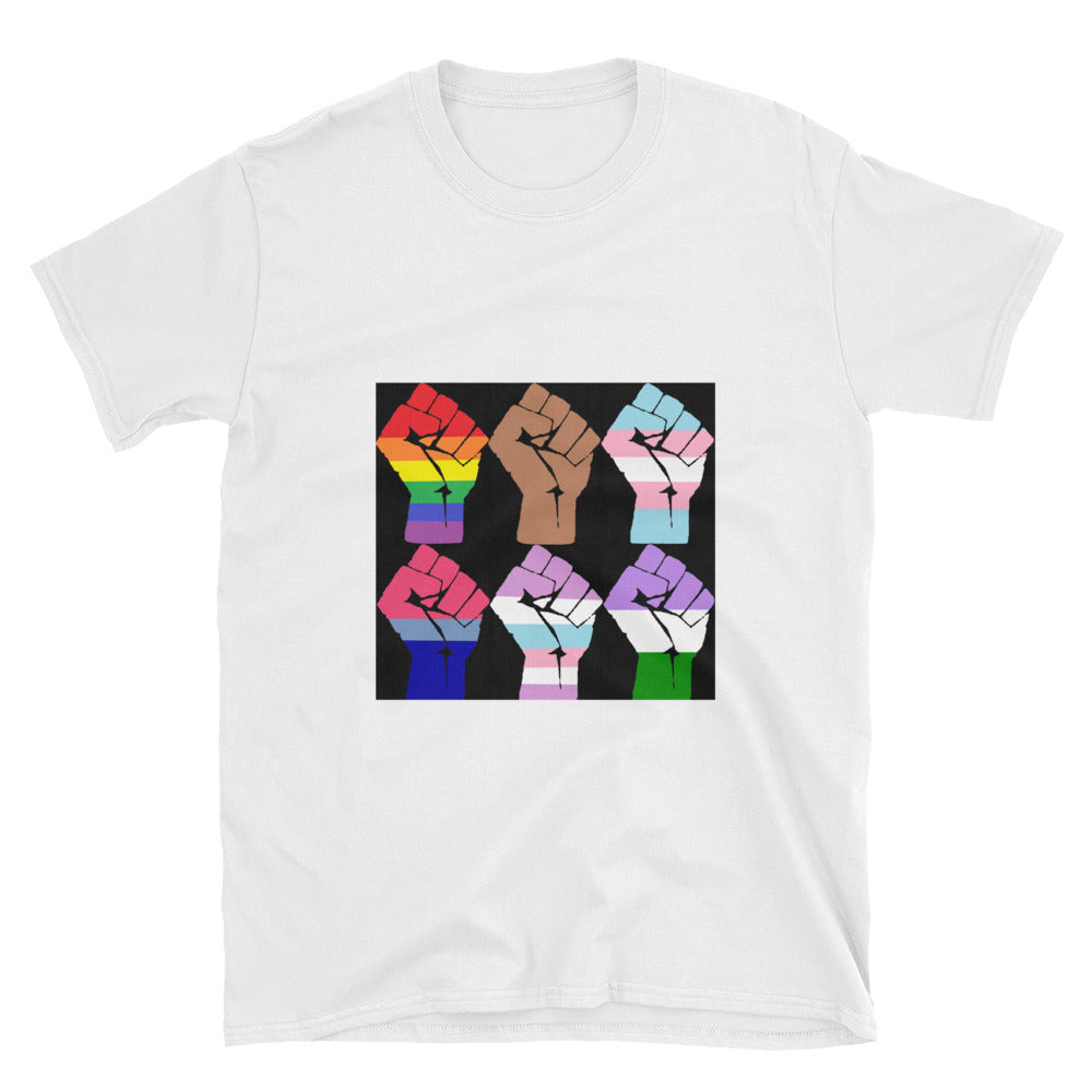 6 Fists Resist T-Shirt