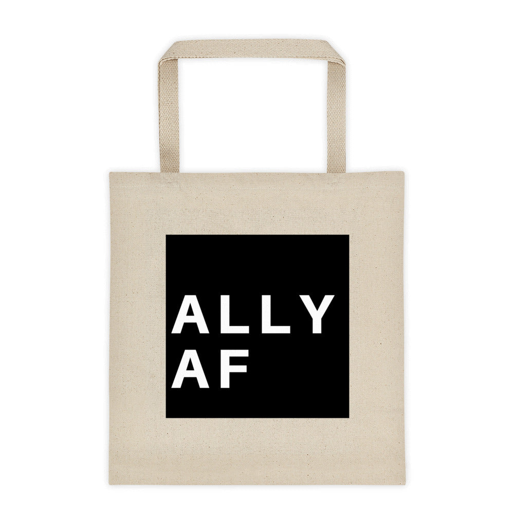 ALLY AF Tote bag - Royal Rainbow