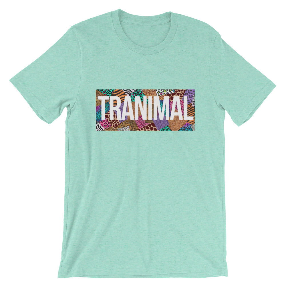 TRANIMAL Short-Sleeve Unisex T-Shirt - Royal Rainbow