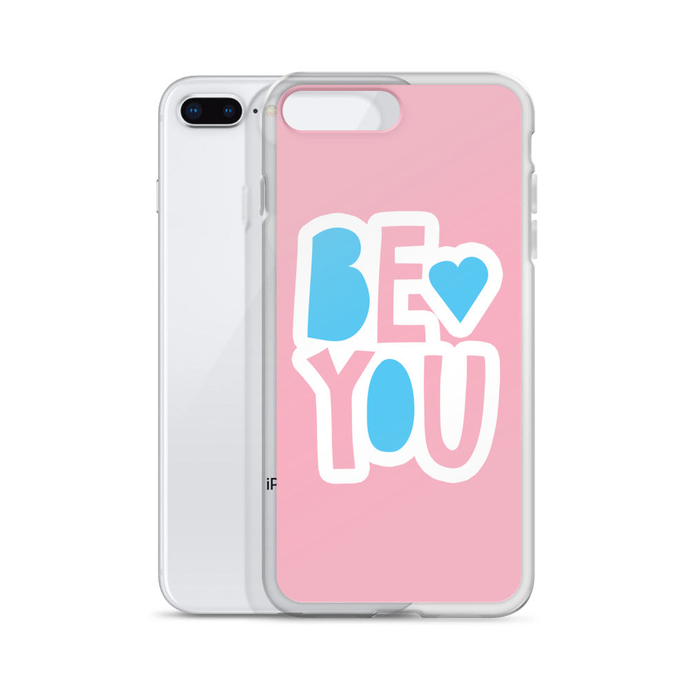 """Be You' iPhone Case - Royal Rainbow"