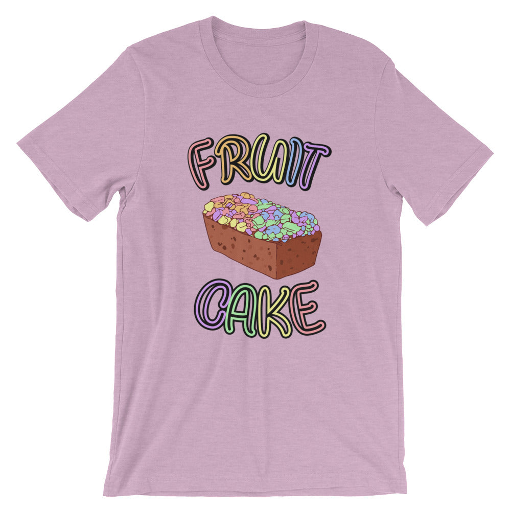Fruit Cake Short-Sleeve Unisex T-Shirt unisex - Royal Rainbow