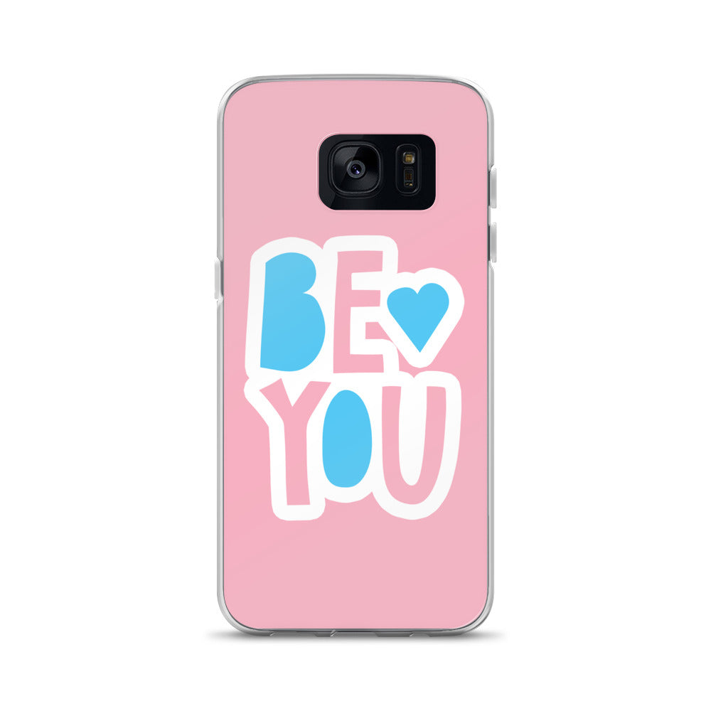 """Be You"" Samsung Case - Royal Rainbow"