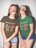 Gingerbread Girlfriends Short-Sleeve T-Shirt unisex - Royal Rainbow