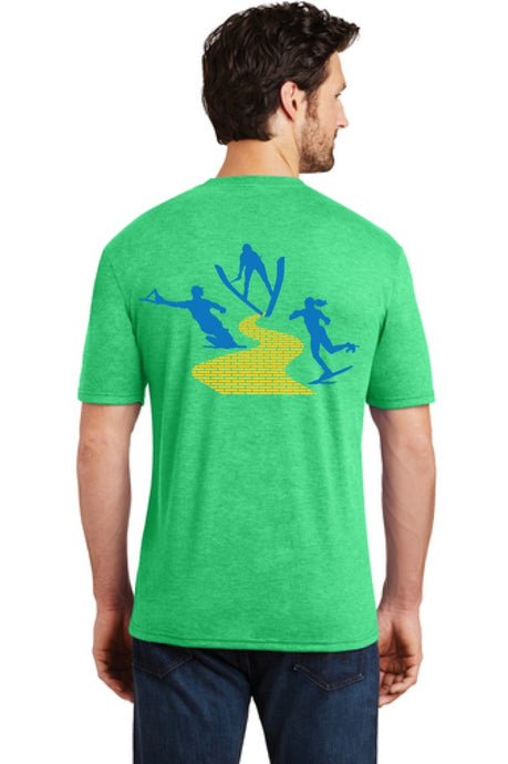Mens Short Sleeve Crew Neck T-shirt | Yellow Brick Road