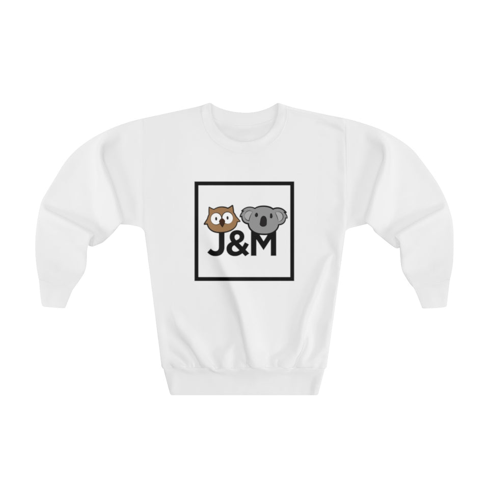 #JM-Youth Crewneck Sweatshirt