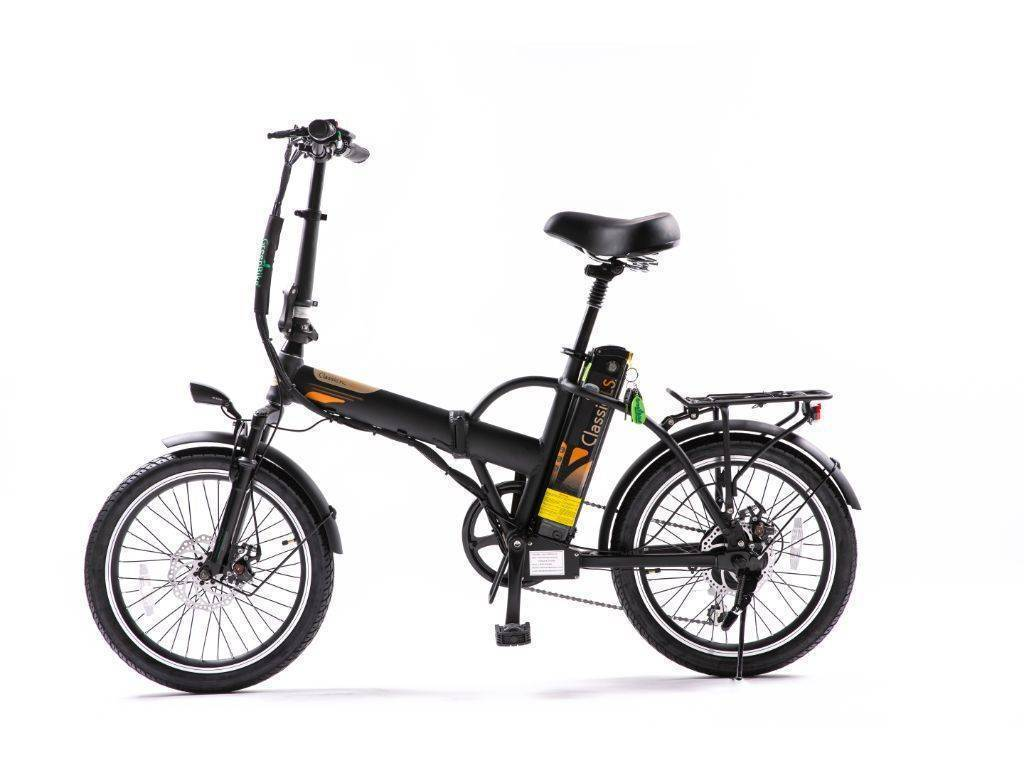Black Green Bike Electric Motion Classic HS Electric Bike