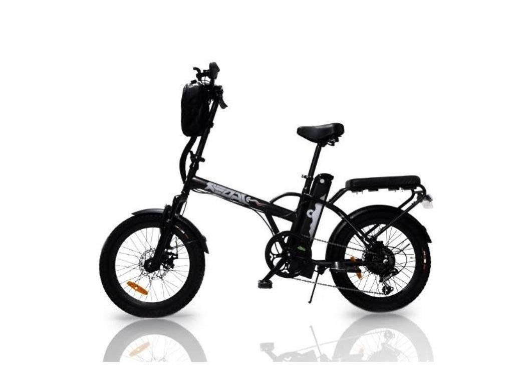Black Green Bike Electric Motion Jagar Dune Electric Bike