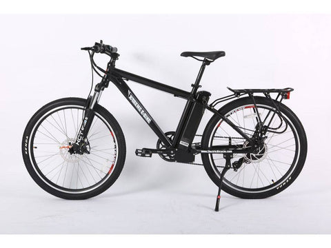 Black Trail Maker Elite Max 36 Volt Electric Mountain Bike