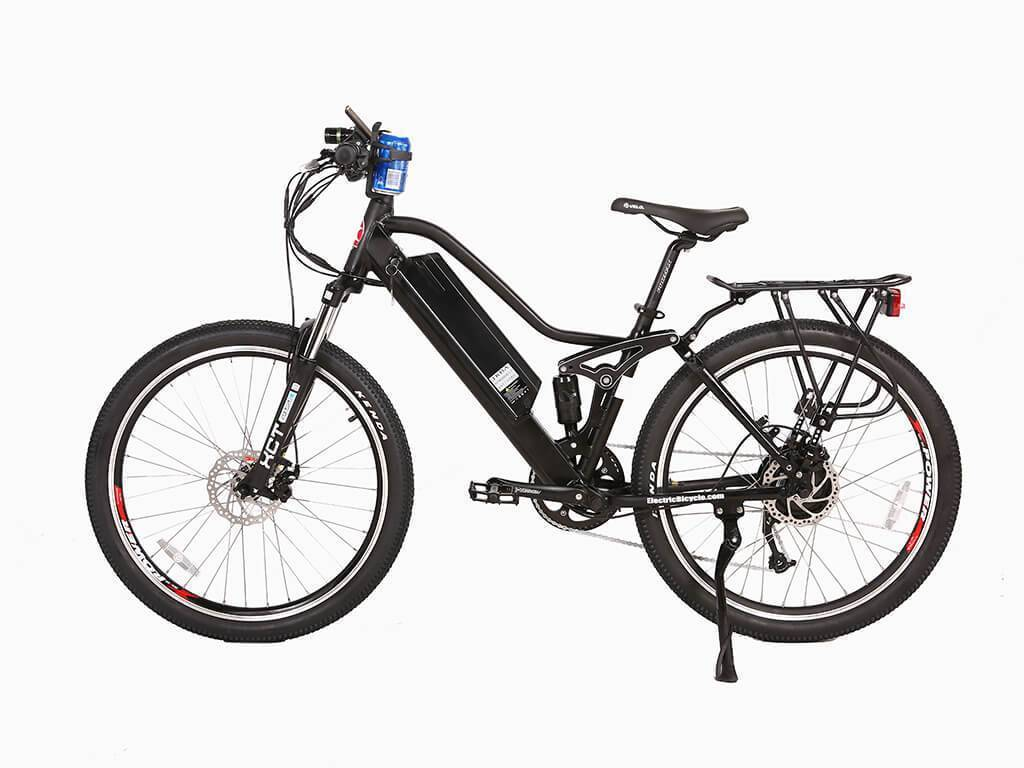 Black X-Treme Sedona 48 Volt Electric Step-Through Mountain Bicycle