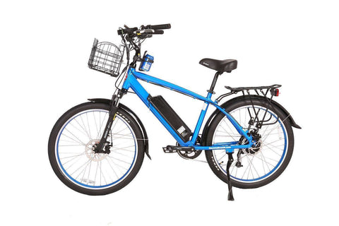 Blue X-Treme Laguna Beach Cruiser 48 Volt Electric Bicycle