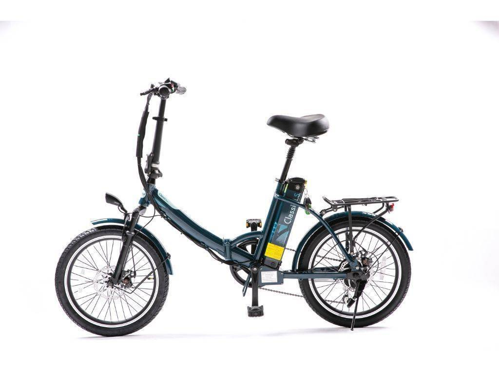 Dark Blue Green Bike Electric Motion Classic LS Electric Bike