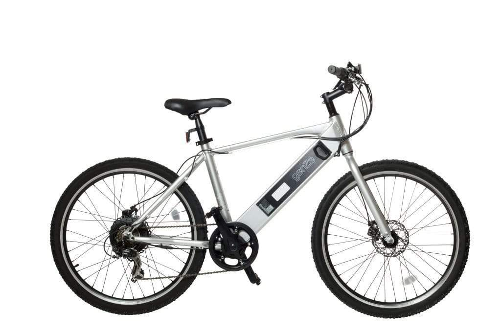Matte Silver American Electric GenZe E101 Sport Electric Bicycle