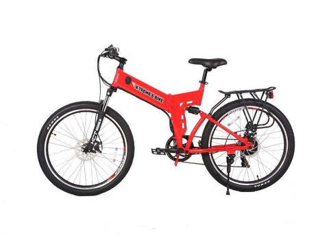 Red X-Treme X-Cursion Elite 24 Volt Electric Folding Mountain Bicycle