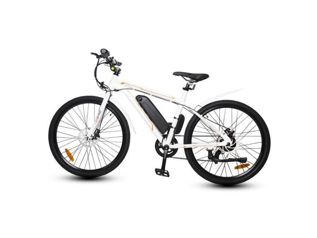 White Ecotric Vortex Electric City Bike