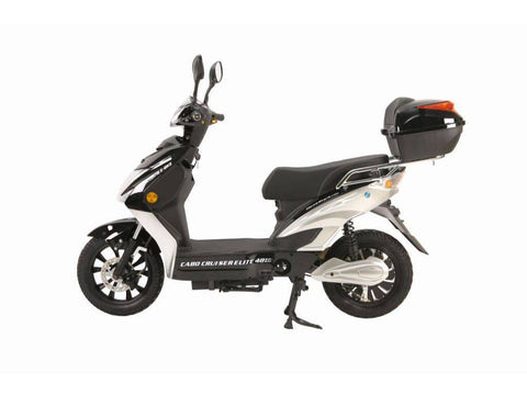 Image of Black X-Treme Cabo Cruiser Elite 48 Volt Electric Bicycle Scooter