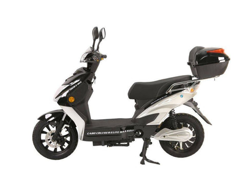 Image of Black X-Treme Cabo Cruiser Elite Max 60 Volt Electric Bicycle Scooter