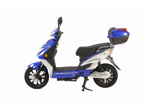 Blue X-Treme Cabo Cruiser Elite 48 Volt Electric Bicycle Scooter