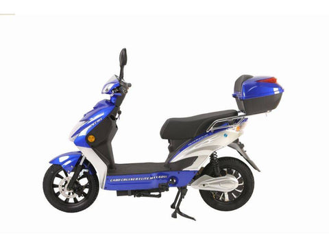 Blue X-Treme Cabo Cruiser Elite Max 60 Volt Electric Bicycle Scooter