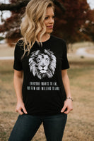 Few Willing To Hunt Adult T-Shirt