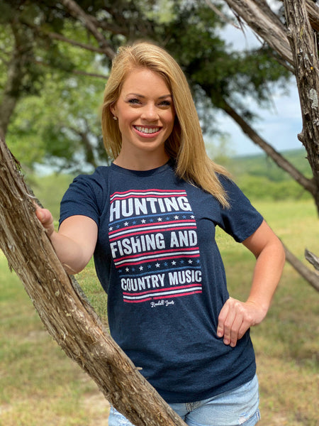 Hunting, Fishing, and Country Music T-Shirt