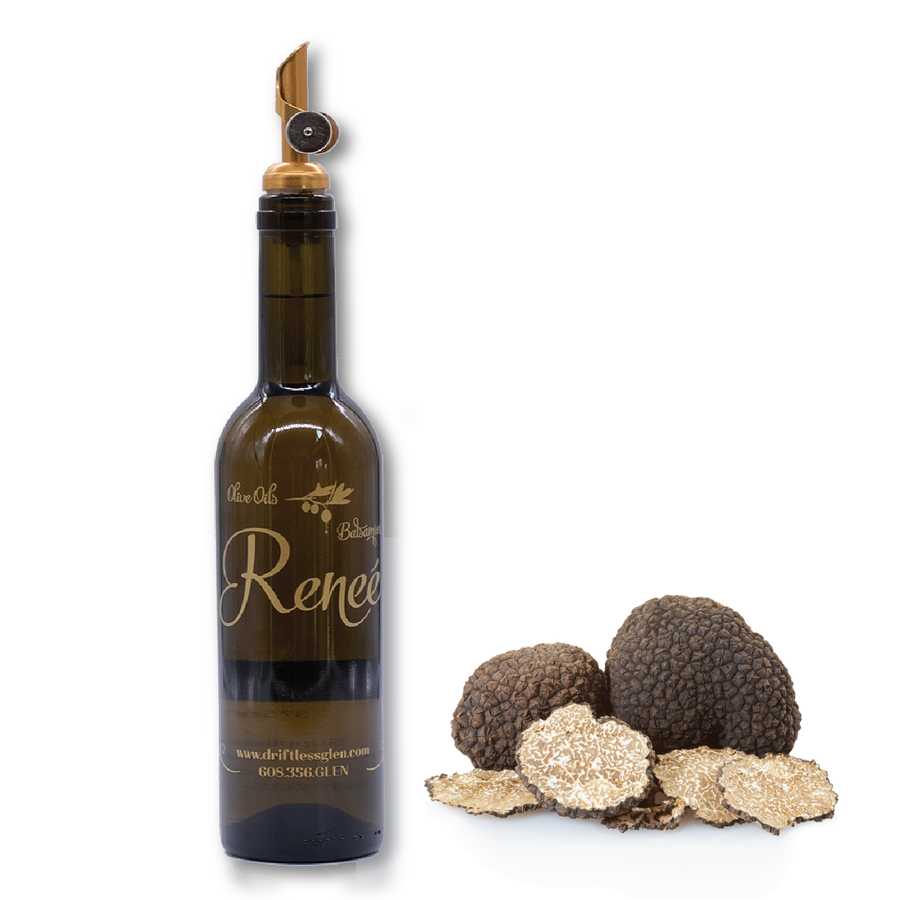 ALL NATURAL BLACK TRUFFLE PURE OLIVE OIL **200ML BOTTLE
