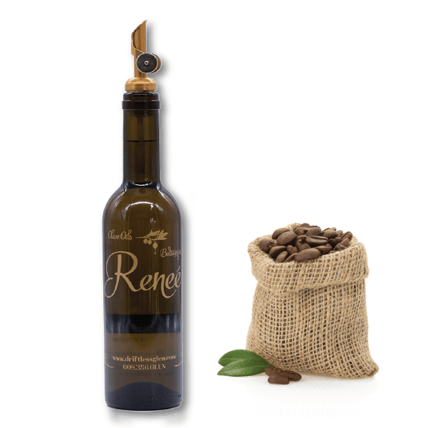 ALL NATURAL AGED DARK ESPRESSO BALSAMIC VINEGAR CONDIMENTO