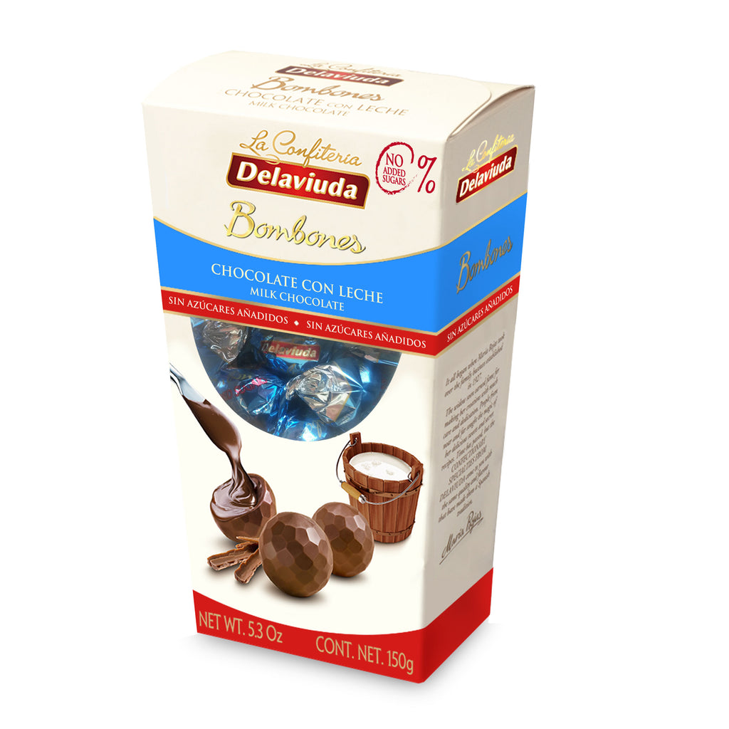 Delaviuda Chocolate Bonbons without added sugar 150 g