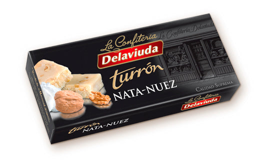 Delaviuda walnut cream turron 300 g