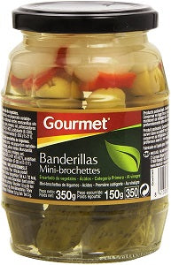Gourmet PICKLED VEGETABLES SKEWERS 330 g