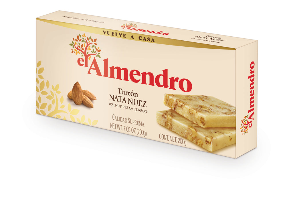 El Almendro Walnut Cream Turron 200 g