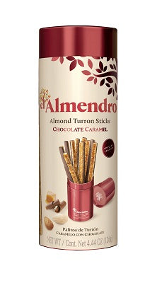 Almond turron sticks choco caramel 126 g