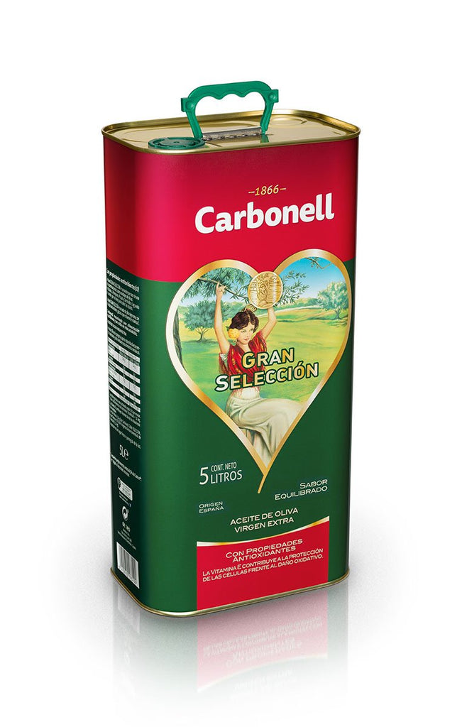 Carbonell Gran Selección Pure Olive Oil 5 L